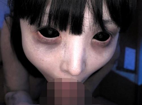【閲覧注意・ホラー】《ネェ…キモチイィ?キモチイイデショー!?!?》生前浮気彼氏の肉棒を切り落とした幽霊による復讐SEX!
