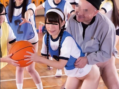 こりゃぁええ穴じゃ!w[時間停止]ジジィがJKの球技大会に潜入し、つるつるパイパン美マンコにはめてコキまくる!ww