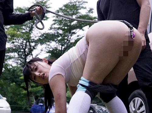 【アナルペット】「はぁ♡私のうんちの穴使って下さい♡」ヤリマン巨尻美女のケツの穴を凌辱!アナル逆噴射で野外露出、奴隷調教!