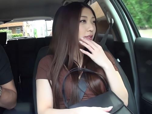 素人ナンパ「あん♡中に出しちゃダメだよぉ♡」Gカップ・スレンダー巨乳おっぱい美人お姉さんに即ハメ!ハメ撮りして膣内射精!
