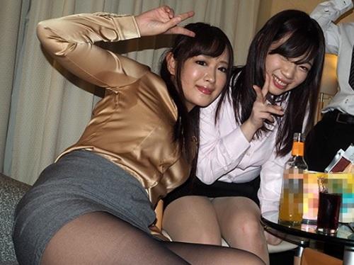 【素人ハメ撮り】「あん♡ダメだってばぁ♡♡」飲み後にムチムチ巨乳おっぱいOLお姉さんにセクハラして中出しセックス!