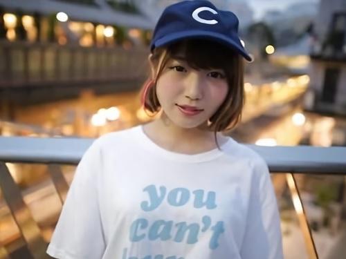 「や、優しくしてね…♡」アイドル並に可愛いショートカット美少女が上京してAV女優デビュー♪フェラしてローションSEX!