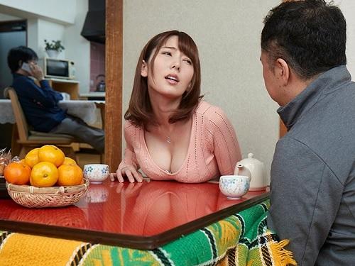 《人妻NTR》「ねぇ♡もぉ下着ぬるぬるで我慢できない♡」コタツでイタズラされマンコどろどろにして発情する巨乳おっぱい美女!
