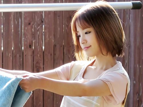 【人妻NTRレイプ】「いやぁ!もぉやめてぇぇ!」隣人男に強姦凌辱されるスレンダーショートカット巨乳おっぱいの美人ロリ若妻!