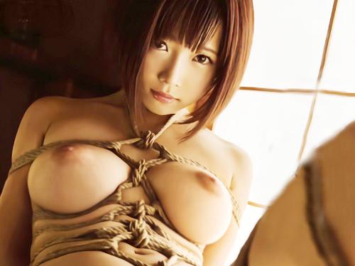 《紗倉まなx緊縛》「いや!いやぁぁ!」スレンダー巨乳おっぱいのセレブ若妻が使用人に監禁・調教でオマンコをイジメられる!