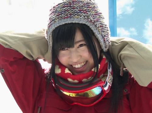 【素人企画】「え=?何するんですかぁ?♡」雪山で本気のお見合い!スレンダー巨乳おっぱいの美人JDがお見合い相手とHなゲームw