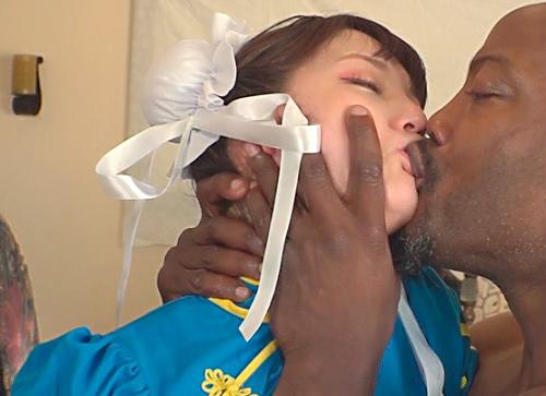 《ヒロイン凌辱レイプ》「きゃぁ!やめろぉぉぉ!んんー!!」スレンダー巨乳おっぱいの美少女格闘家がデカチン黒人に犯される!