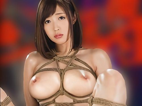 【SMショー】「もぉやめてぇぇ!」スレンダー巨乳おっぱいの美人お姉さんが媚薬で高まったボディを緊縛されて犯される!
