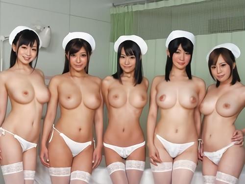 【白衣の天使】「治療ですから膣内に射精して下さい♡」ムチムチ巨乳おっぱいのエロナースと待合室でエロボディを楽しみ膣内射精!