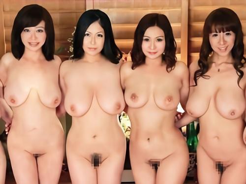 【全員Hカップ以上のおばさん】「おっぱい好きでしょぉ?♡」ムチムチ超乳・巨乳おっぱいの美熟女人妻達が若いチンポを誘惑w