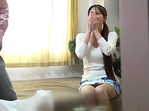 人妻ナンパ「だめっ♡感じちゃうのっ♡♡」スレンダー巨乳おっぱいの超エロい美魔女おばさんと不倫NTRを盗撮・隠し撮り!