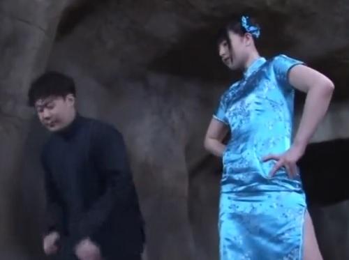 【女カンフー戦士x辱め】「くっ!やめろぉぉ!」ムチムチ巨乳おっぱい美少女戦士が囚われて、無理やりイキ潮おもらしアクメ!