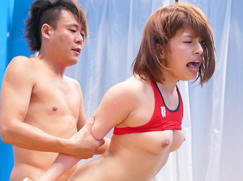 【素人企画】「ひぃ!いっくぅ!」美乳おっぱいアスリート女子大生は引き締まったボディに超キツ名器マンコ!膣内射精をキメる!