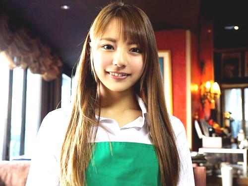 【女子大生ナンパ】『あん♡凄い気持ちぃ♡』カフェで働くスレンダー美乳おっぱい・ロングヘアが綺麗な超かわいいJDをハメ撮り!