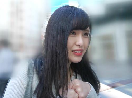 素人ナンパ「やんっ♡だめぇ♡」街で見かけた黒髪・清楚美人なお姉さん!脱がすとスレンダー巨乳おっぱい!美女と膣内射精SEX