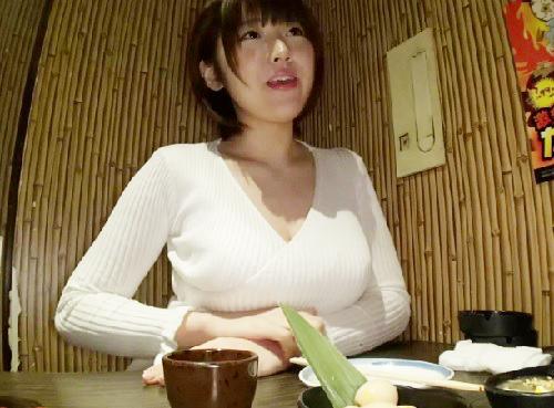 【素人お姉さん】「H?いいよ…♡」アプリで知り合ったIカップのムチムチ巨乳おっぱいOLを会ったその日に即ハメSEX!!