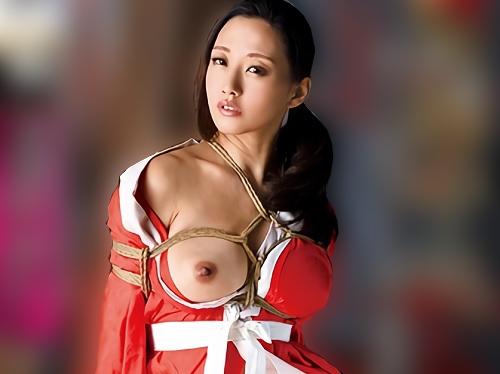 【人妻熟女x緊縛SM】「こんなの初めて♡」スレンダー巨乳おっぱい美魔女M女おばさんが縛りプレイでアクメする!【伊東沙蘭】