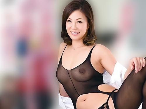 《四十路の生保レディ》「生でいかが?♡♡」スレンダー巨乳おっぱい熟女おばさんOLの特約オプションの種付けSEX|片瀬仁美