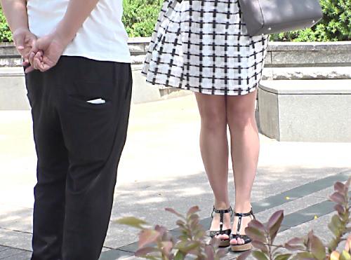 【外人人妻ナンパ】「凄い気持ちぃですぅ♡」三十路のムチムチ太もも・ピンク乳首・美乳おっぱい素人金髪熟女おばさんとSEX!